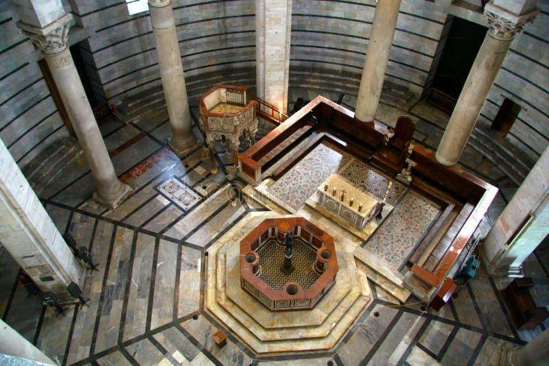 En la capilla de Pisa fotografía de archivo