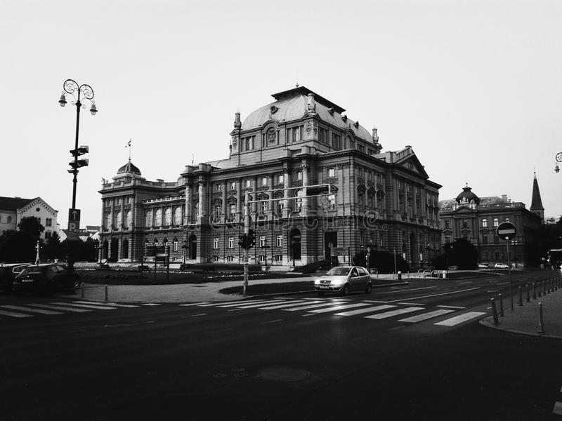 En la ciudad imagen de archivo libre de regalías
