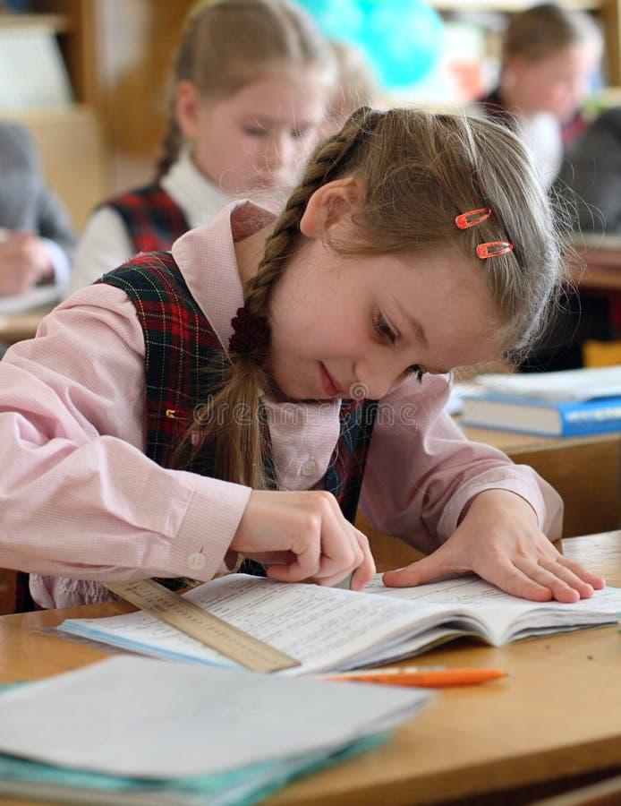 En la escuela 3 imagen de archivo
