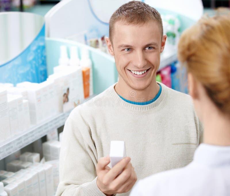 En la farmacia imagen de archivo libre de regalías