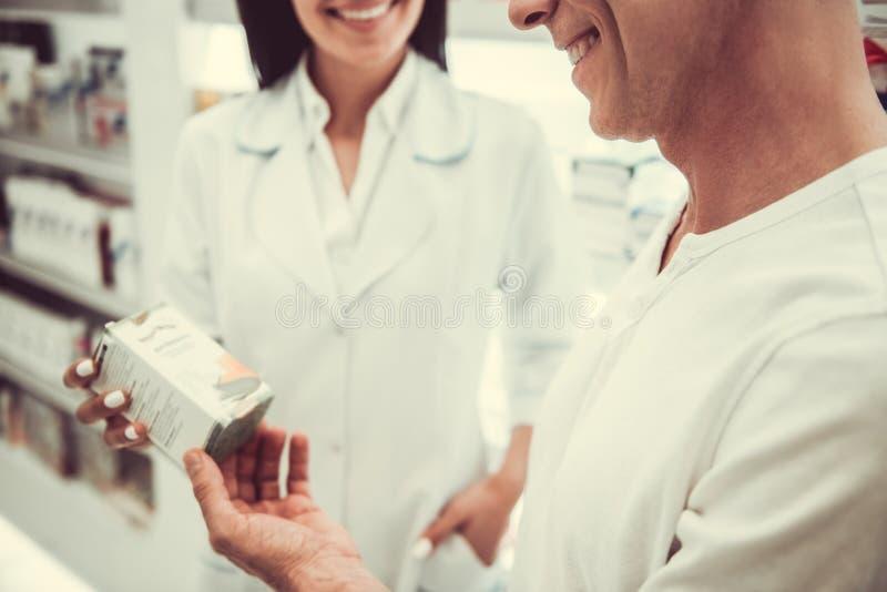 En la farmacia imágenes de archivo libres de regalías