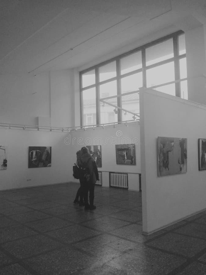 En la galería fotos de archivo