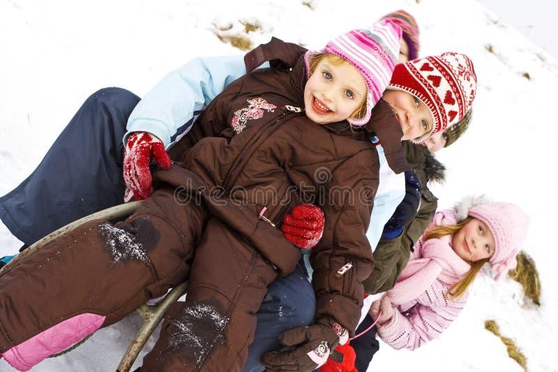 En la nieve foto de archivo libre de regalías