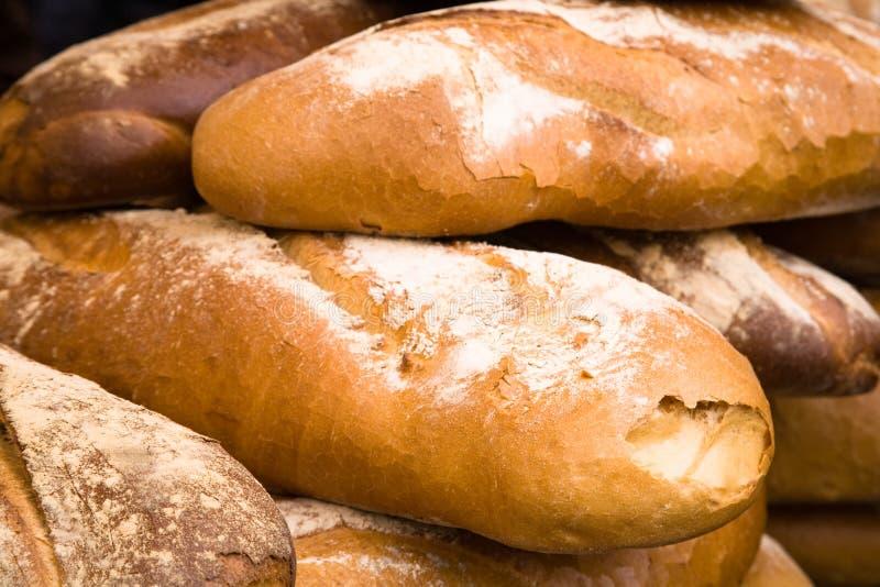 En la panadería fotos de archivo