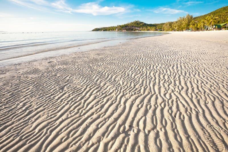 En La Playa Tropical Imagen de archivo libre de regalías
