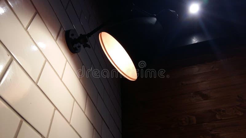 En lampa royaltyfri fotografi