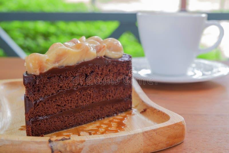 En lappa av tårtan royaltyfria bilder
