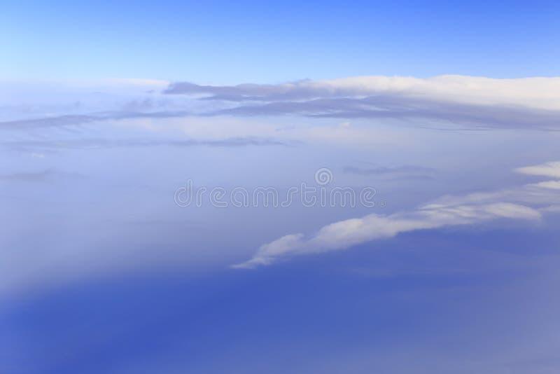 En las nubes a gran altitud imagen de archivo libre de regalías