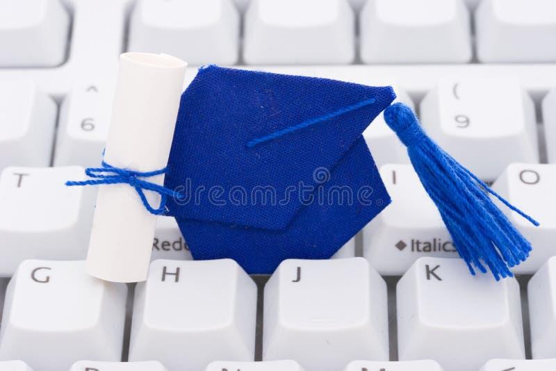 En ligne ou éducation d'Internet photos stock