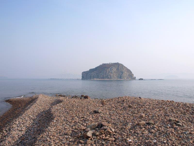 En liten islandt arkivbild