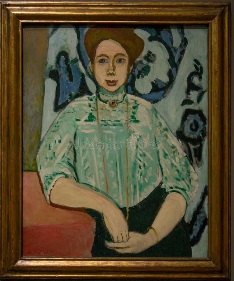 En målning av Henri Matisse i National Gallery i London arkivbild