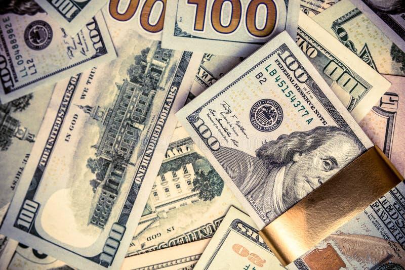 En en massa lögner USA-valutan fotografering för bildbyråer