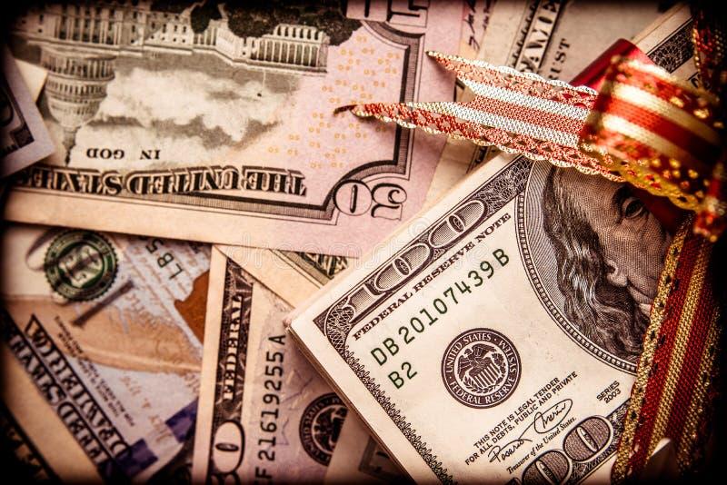 En en massa lögner USA-valutan arkivbild