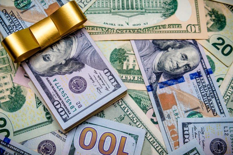 En en massa lögner USA-valutan royaltyfri foto