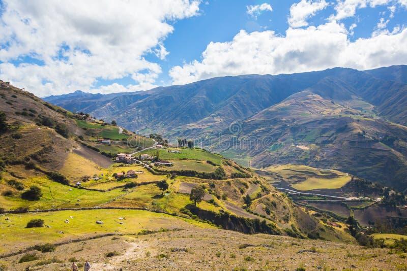 En Merida delle montagne andes venezuela immagini stock libere da diritti