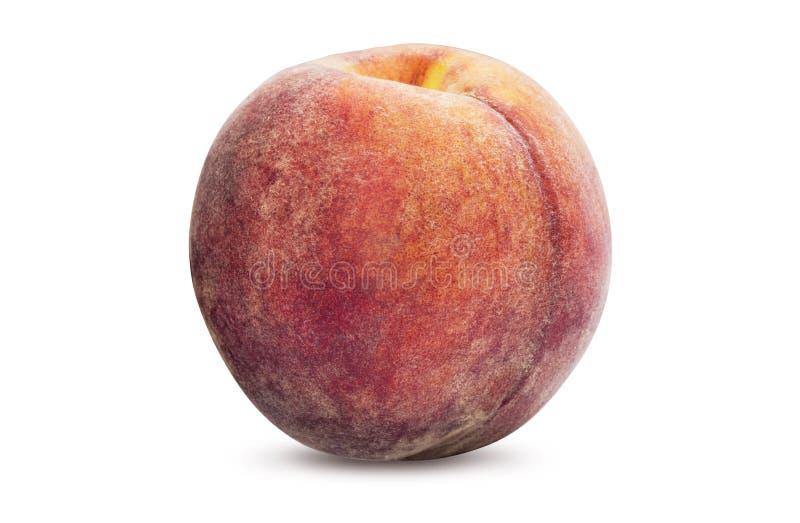En mogen persika royaltyfri bild