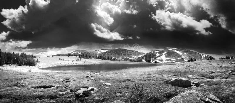 En Montana Storm fotografering för bildbyråer
