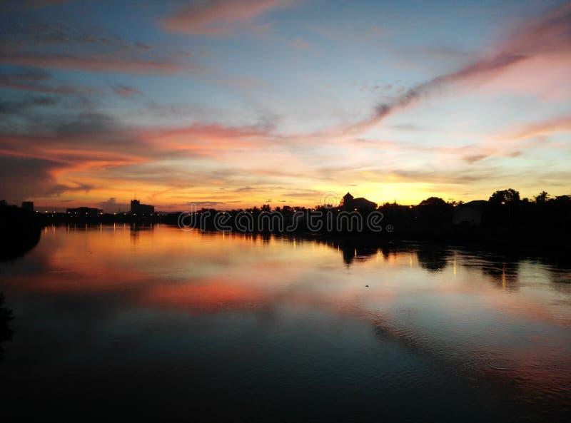 En morgonsikt arkivbilder