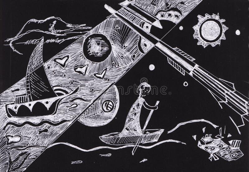 En motivos del ` s de Kandinsky libre illustration