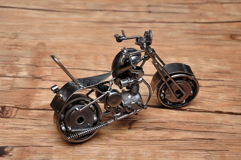 En motorcykel arkivbilder