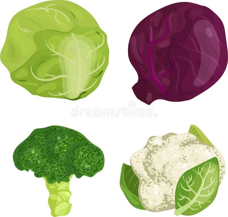 En näring av livsmedel stock illustrationer
