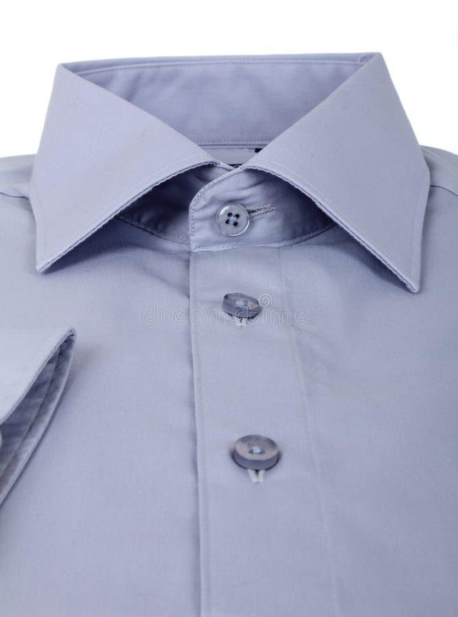 En ny grå mans skjorta royaltyfria bilder