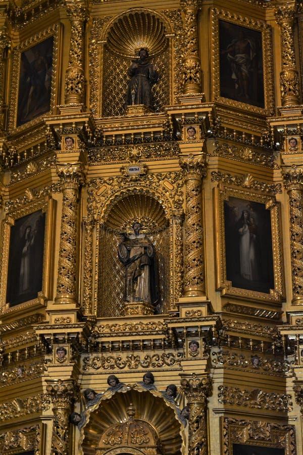 En Oaxaca de Templo2 de Santo Domingo fotos de archivo libres de regalías