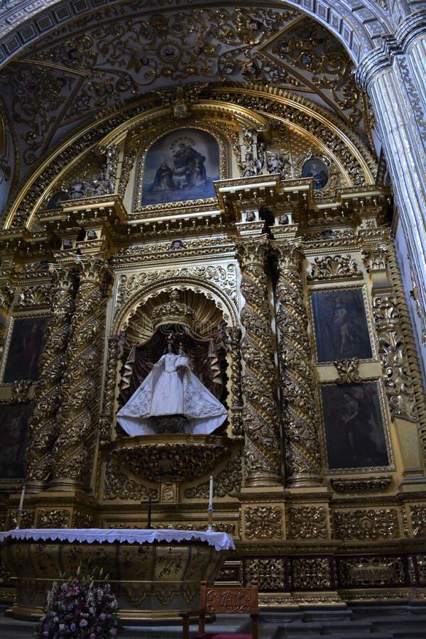 En Oaxaca de Virgen del Rosario3 de Santo Domingo fotografía de archivo