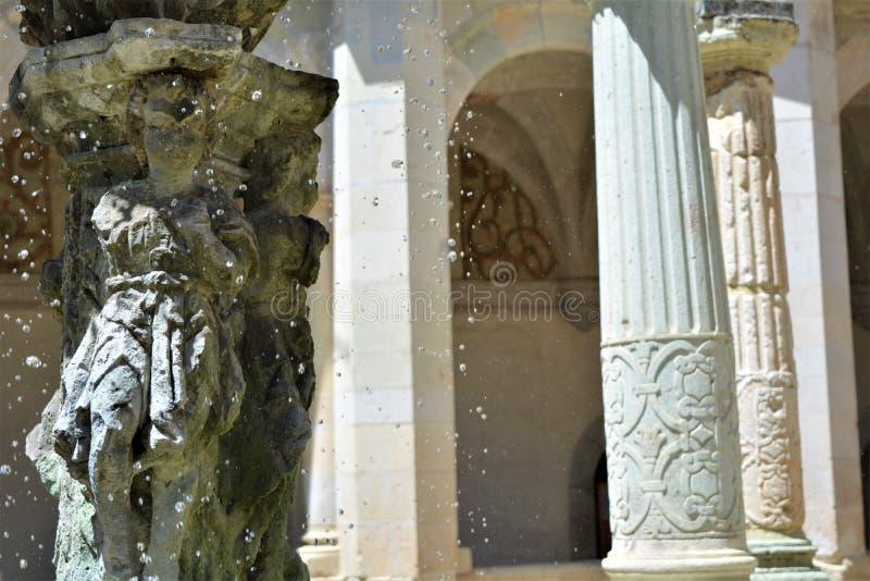 En Oaxaca del Convento de Santo Domingo del dentro de Fuente foto de archivo