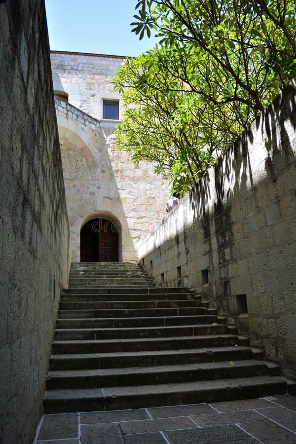En Oaxaca del EL Convento de Santo Domingo del en de Escalera imagen de archivo