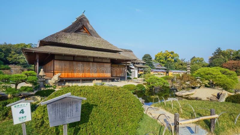 En ogród w Okayama fotografia stock