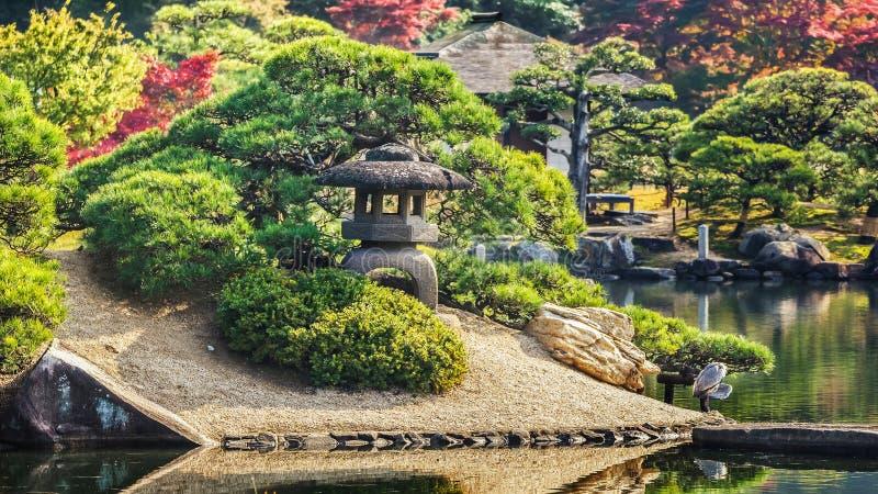 En ogród w Okayama zdjęcia royalty free