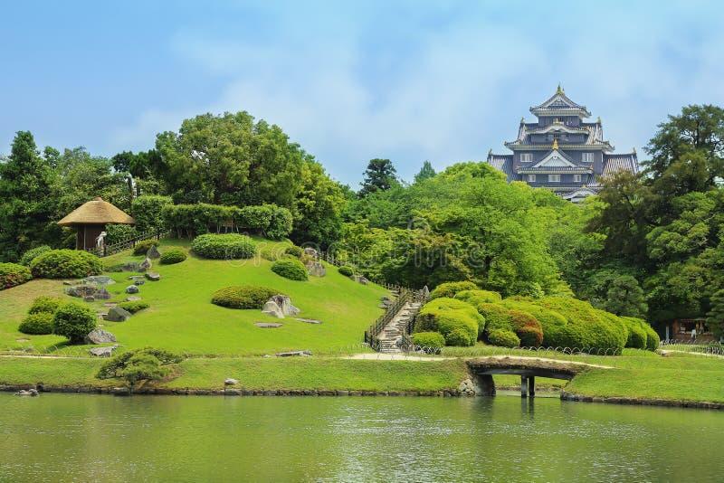 En ogród w Okayama, Japonia Maj, 2017 zdjęcie royalty free