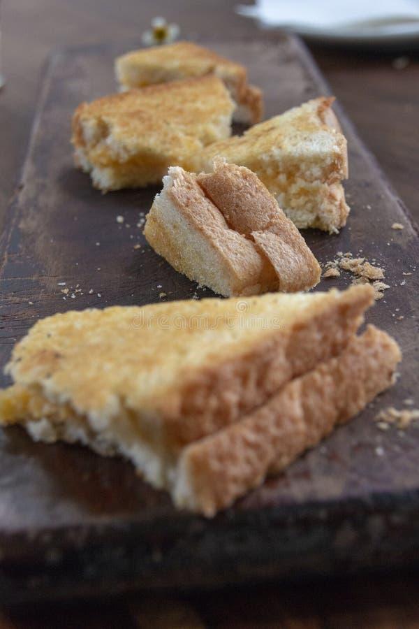 En ostsmörgås royaltyfri foto