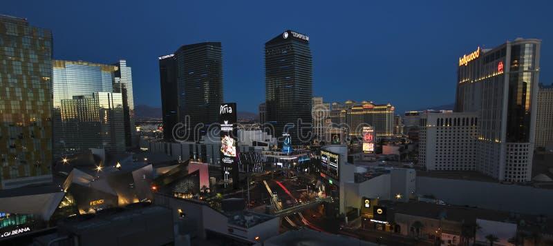 En otta Harmon och Las Vegas Blvd skott royaltyfri fotografi