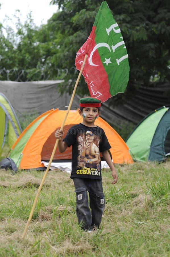 En pakistansk unge arkivfoto