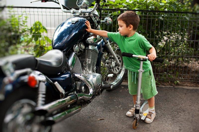 En passion för motorcyklar royaltyfri bild