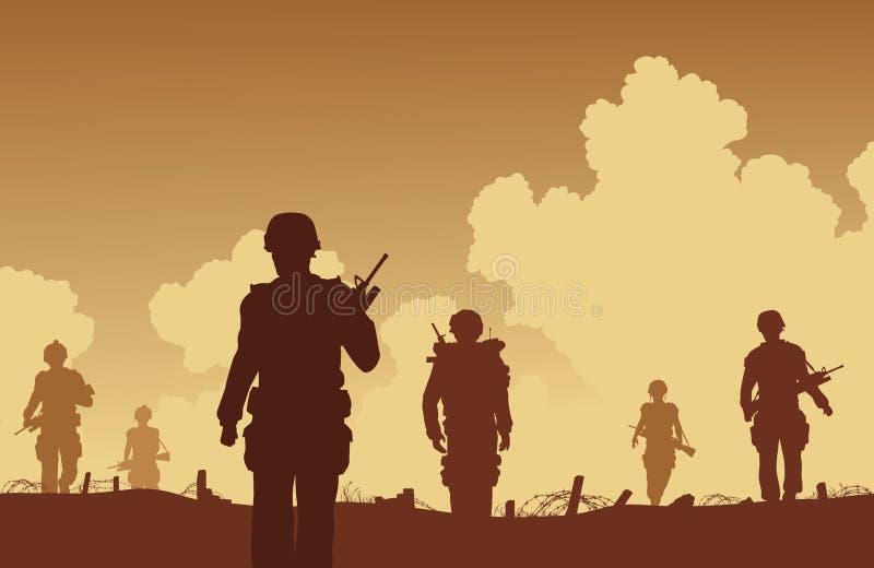 En patrulla libre illustration