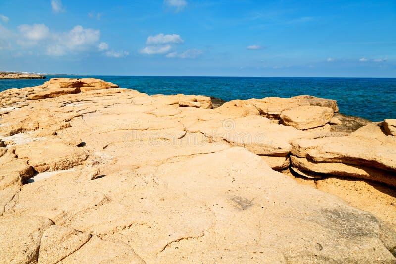 en plage de l'Oman détendez près photographie stock libre de droits