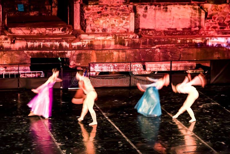 En plats av Romeo And Juliet Ballet royaltyfri foto