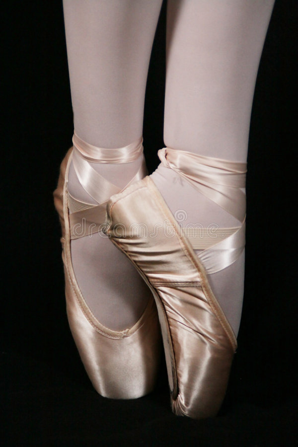 Download En Pointe stock image. Image of worn, style, pointe, ankle - 8427113