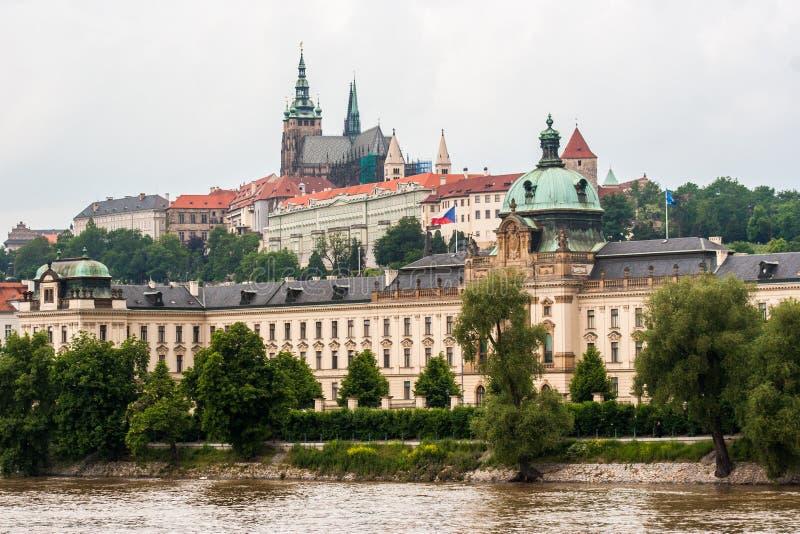 En Praga fotografía de archivo