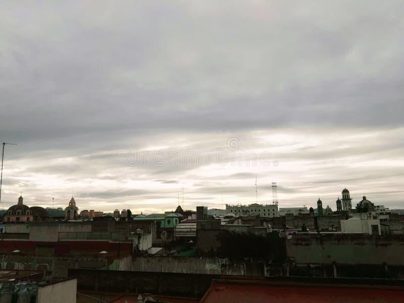 En Puebla d'Atardecer image libre de droits