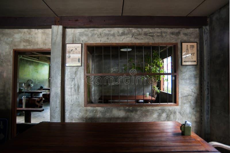 En restaurante tailandés al aire libre fotos de archivo