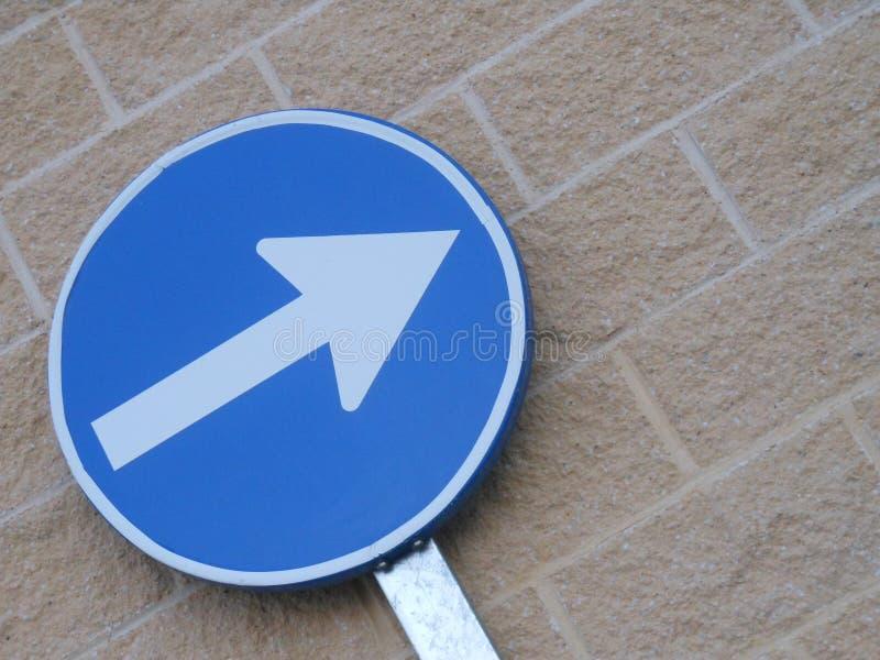 En riktning som ska köras royaltyfri foto