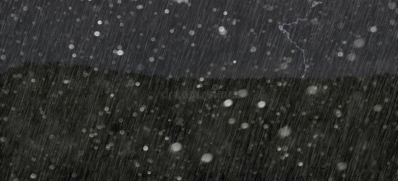 En ruskig storm arkivbilder