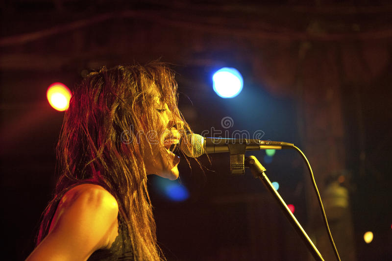 En sångare, Mississippi arkivfoton