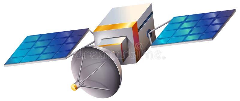 En satellit vektor illustrationer