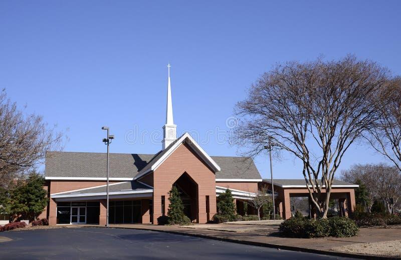 En segundo lugar Baptist Church, Memphis, TN fotos de archivo libres de regalías