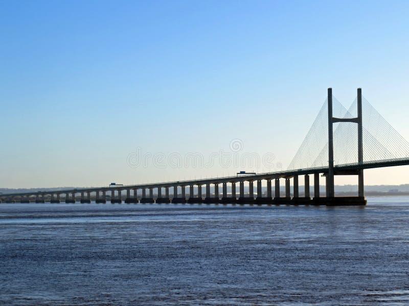 En segundo lugar Severn Crossing fotos de archivo